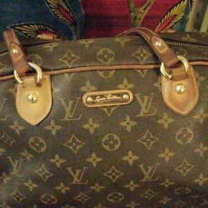 Auth Louis Vuitton montorgueil GM bag